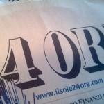 Per IlSole24Ore continuano i problemi: deboli i conti 2010