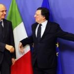 UE taglia stime pil e lavoro Italia. Debito record nel 2014