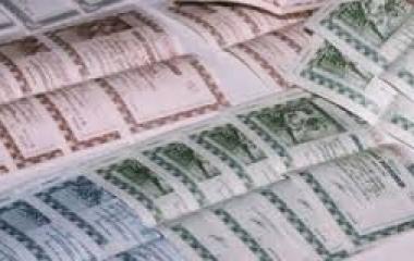 Asta BoT, rendimenti annuali tornano sopra l'1%